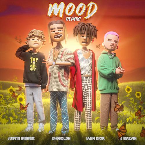 24kGoldn, Justin Bieber, J Balvin, iann dior - Mood (Remix)  (2020)
