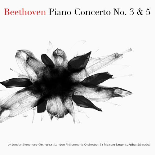 """London Symphony Orchestra, Sir Malcom Sargent, Arthur Schnabel - Piano Concerto No. 5 in E-Flat Major, Op. 73 """"Emperor"""": II. Adagio un poco mosso"""