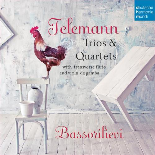 Bassorilievi - Sonata à flauto traverso, viola da gamba e cembalo in G Minor, TWV 42:g7: II. Allegro  (2015)