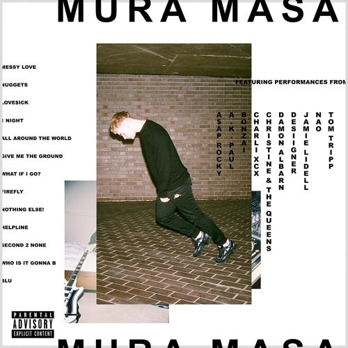 Mura Masa, Desiigner - All Around The World  (2017)