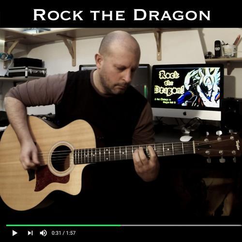 "Christophe Deremy - Rock the Dragon (From ""Dragon Ball Z"")  (2018)"